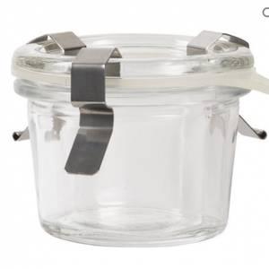 Bilde av Lite marmeladeglass med lokk