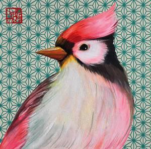 Bilde av Servietter Oiseau japonaise